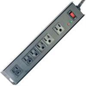 SURGE 6 OUTLET 1150J METAL