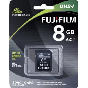 Fujifilm Elite 8 GB SDHC