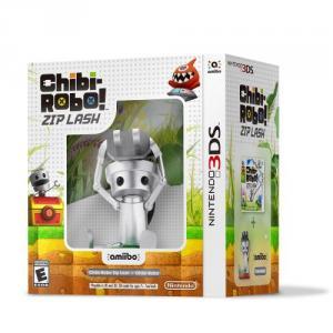 Chibi-Robo!: Zip Lash Amiibo Nintendo 3DS