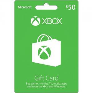 Microsoft Live Card 50 Dollars