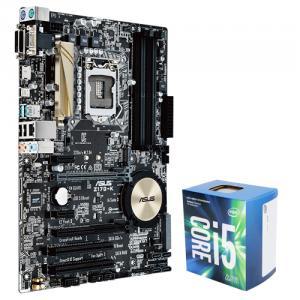 Asus Z170-K Desktop Motherboard + Intel Core i5-7500 Kaby Lake Quad-Core 3.4 GHz LGA 1151 65W