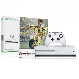 Microsoft Xbox One S FIFA 17 Bundle (500GB) + $50 ANT eGift Card