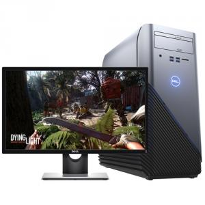 """Dell Inspiron 5000 5675 VR Ready Desktop Computer with Dell SE2417HG 23.6"""" LED LCD Monitor"""