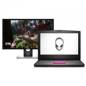 "Alienware 15 R3 15.6"" LCD Gaming Notebook with Dell SE2417HG 23.6"" LED LCD Monitor"