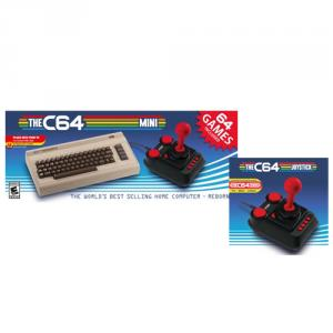 The C64 Mini Retro Gaming Console with Extra C64 Controller