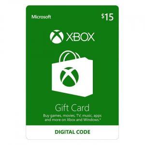 Microsoft Xbox $15 Gift Card (Digital Code)