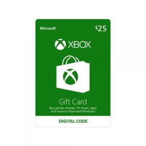 Microsoft Xbox $25 Gift Card (Digital Code)
