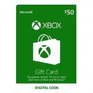 Microsoft Xbox $50 Gift Card (Digital Code)