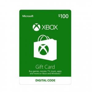Microsoft Xbox $100 Gift Card (Digital Code)