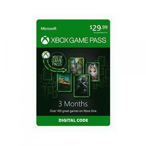 Microsoft Xbox Game Pass 3-Month Membership (Digital Code)