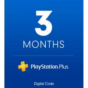 PlayStation Plus 3 Month Membership (Email Delivery)