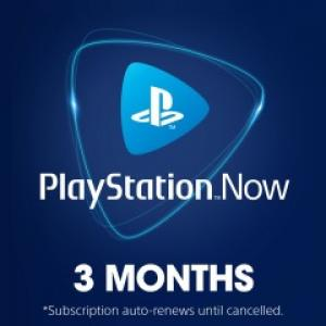 PlayStation NOW 3 Month Subscription (Digital Download)