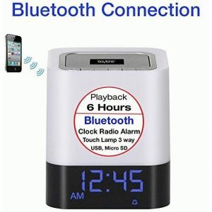 boytone BT-84CB Portable Clock Radio - 10 W RMS