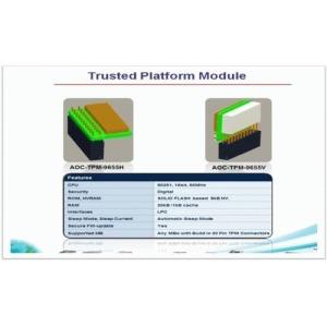 Supermicro AC AOM-TPM-9655V Vertical TPM with Infineon 9655 RoHS REACH PBF