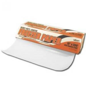 "Heavy Duty Freezer Paper with Cutter Box 18"" X 300' roll"