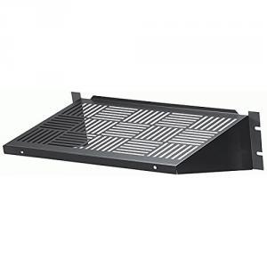 Black Box RMTS02 Rack Mount Vented Fixed Shelf