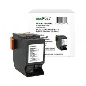 ecoPost Ink Cartridge - Alternative for Hasler (ISINK4HC, IMINK4HC, 4145711Y) - Red