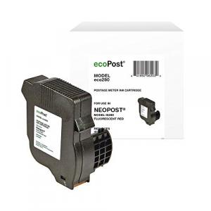 ecoPost Ink Cartridge - Alternative for Neopost (ISINK2, IMINK2) - Red