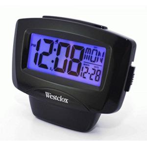 CLOCK ALARM 1IN LCD W/DAY-DATE