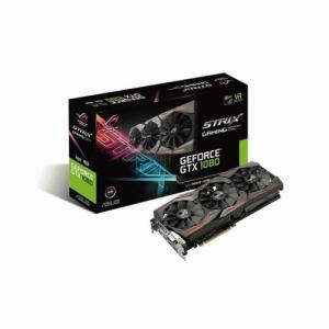 ROG STRIX-GTX1080-A8G-GAMING GeForce GTX 1080 Graphic Card - 1.70 GHz Core - 1.84 GHz Boost Clock - 8 GB GDDR5X - PCI Express 3.0 - Dual Slot Space Required
