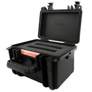 Data Locker DLMILCASE2 Ballistic, Hard carrying case, Black
