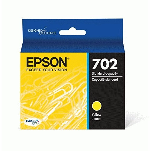 Epson DURABrite Ultra T702 Original Ink Cartridge - Yellow