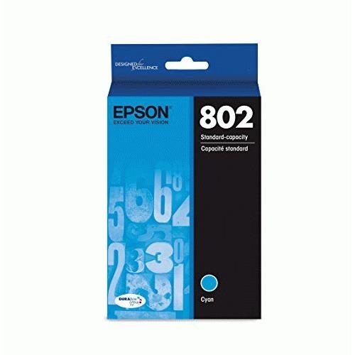 Epson DURABrite Ultra T802 Original Ink Cartridge - Cyan