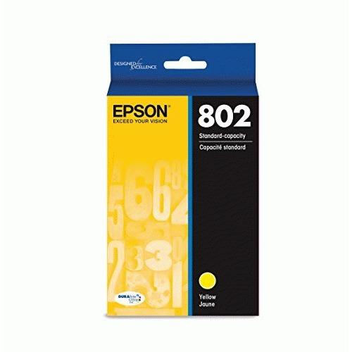 Epson DURABrite Ultra T802 Original Ink Cartridge - Yellow