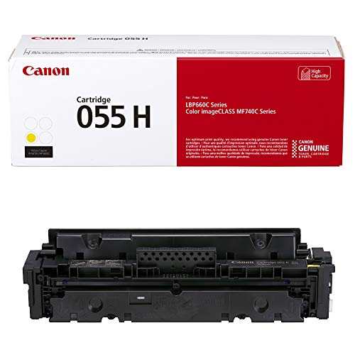 Canon 055H Original Toner Cartridge - Yellow