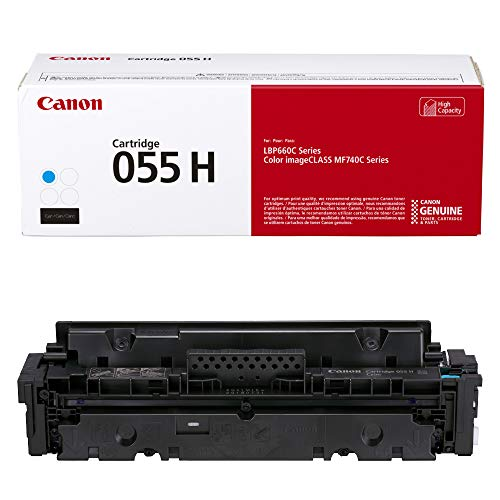 Canon 055H Original Toner Cartridge - Cyan