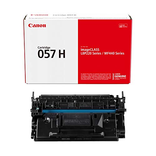 Canon 057H Original Toner Cartridge - Black