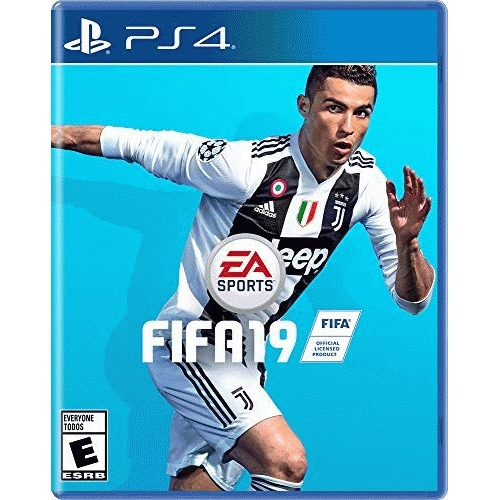 FIFA 19 PlayStation 4  -  PS4 exclusive - ESRB Rated E - Standard edition - UEFA Champions League mode - Active Touch System - Dynamic Tactics - Real Player Motion Technology