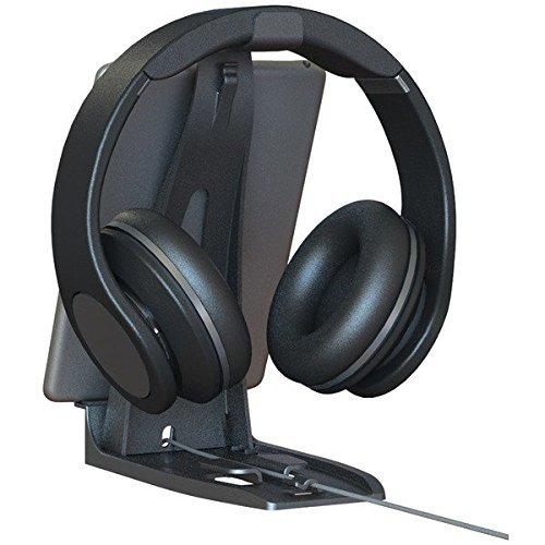 Allsop Headset Hangout, Universal Headphone Stand & Tablet Holder
