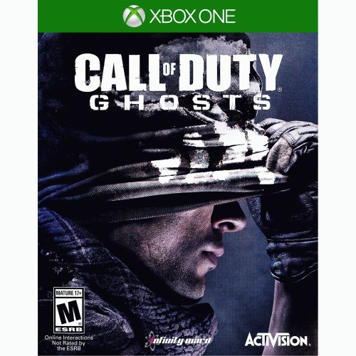 Call of Duty: Ghosts Xbox One - For Xbox One - ESRB Rated M (Mature 17+) - Fight for survival - Under-dog role - Online play