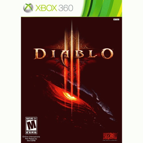 DIABLO III Xbox 360 - For Xbox 360 - ESRB Rated M (Mature 17+) - Humanity's last defender - Solo play - Online play