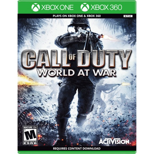Call of Duty World at War Xbox One & 360 - Xbox One & 360 Supported - ESRB Rated M (Mature 17+) - First-person Shooter - Multiplayer Supported - Get through WWII