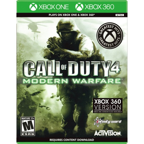 Call Of Duty 4: Modern Warfare Xbox 360 & One - For Xbox 360 & One - ESRB Rated M (Mature 17+) - Intense action experience - 70 new weapons - Online play