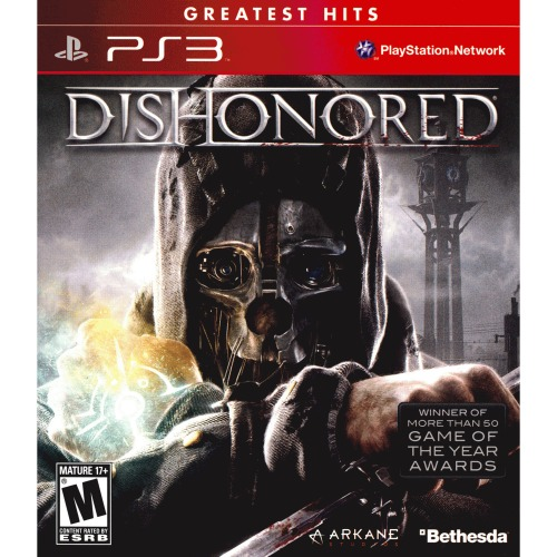 Dishonored PS3 Greatest Hits - For PlayStation 3 - ESRB Rated M (Mature 17+) - First-person - Action game - Single Player