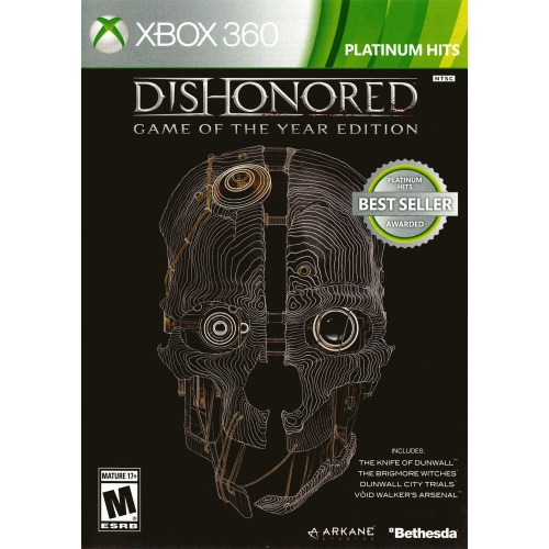 Bethesda Dishonored Game of the Year Edition