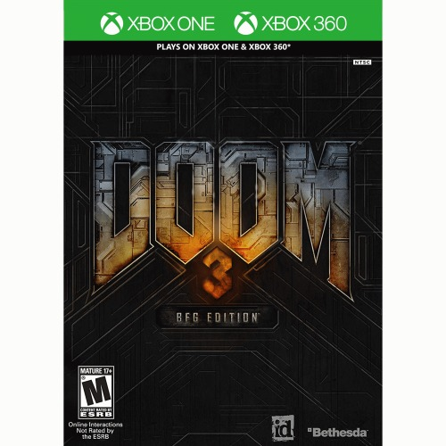 Doom 3 BFG Edition Xbox 360 & One - For Xbox 360 & One - ESRB Rated M (Mature 17+) - FPS (first person shooter) game - DOOM 1 & 2 included - Demonic world