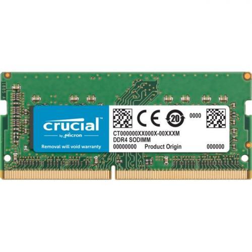 Crucial 8GB DDR4 SDRAM Memory Module - 8 GB - DDR4-2400/PC4-19200 - 2400 MHz - Unbuffered Non-ECC - 260-Pin SO-DIMM