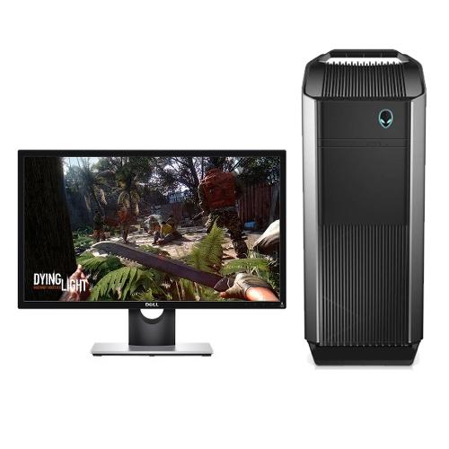Dell Alienware Aurora Desktop with Dell SE2417HG 23.6