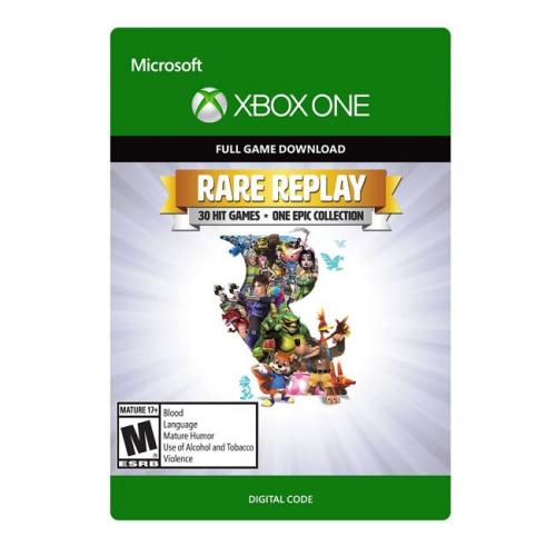 Rare Replay (Digital Download) - For Xbox One - Full game download included - ESRB Rated Mature (17+) - Multi-player supported
