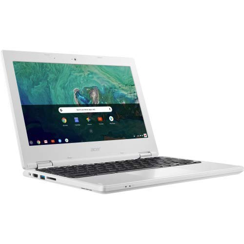 "Open Box: Acer 11.6"" Chromebook Intel Celeron HD GRaphics 400 4GB RAM 32GB Flash Memory White  -  Intel Celeron N3060 Dual-core - In-plane switching technology - Intel HD Graphics 400 - Google Chrome operating system - 10 hr battery life"