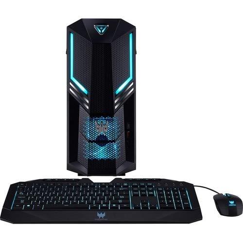 Acer Predator PO3-600 Gaming Desktop Computer - Intel Core i5 9th Gen i5-9400 Hexa-core (6 Core) 2.90 GHz - 8 GB RAM DDR4 SDRAM - 1 TB HDD - 256 GB SSD