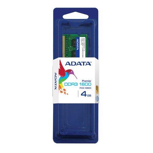 Open Box: ADATA Premier DDR3 1600MHz 4GB Laptop Memory Modules (AD3S1600W4G11-S)