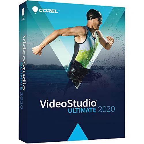 Corel VideoStudio Ultimate 2020 - Video & Movie Editing Software - Slideshow Maker, Screen Recorder, DVD Burner - Premium Effects from NewBlueFX, Boris FX, proDAD [PC Disc]