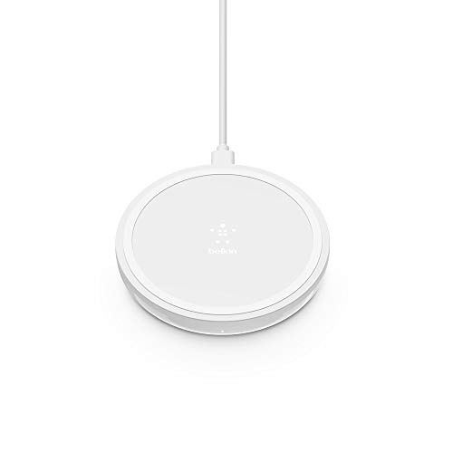 Open Box: Belkin Wireless Charger 10W ??? Boost Up Wireless Charging Pad, Wireless Charger for iPhone 11, 11 Pro, 11 Pro Max, XS, XS Max, XR, X, 8, 8 Plus/Samsung Galaxy S10, Note10 and More
