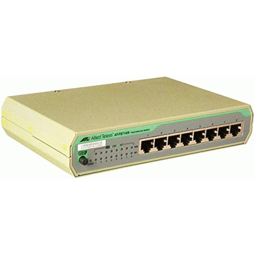 Allied Telesis AT-FS710/8-10 Ethernet Switch