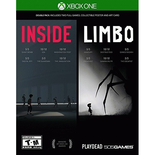 Inside Limbo Double Pack Xbox One - For Xbox One - ESRB Rated T-M - Puzzle Platform - Role play - Single Player
